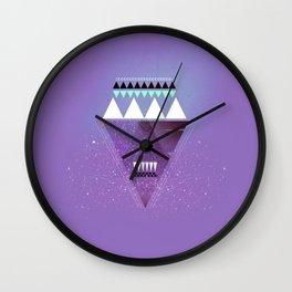 GALAXY TRIANGLE Wall Clock