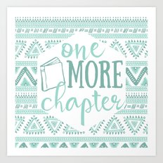 One More Chapter - Tribal  Art Print