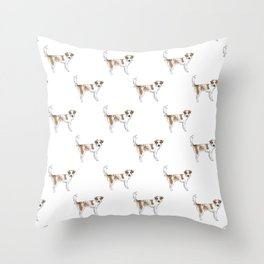 Lunchbox the Dog Throw Pillow