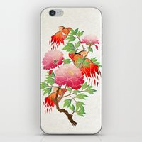 goldfish iPhone & iPod Skins featuring goldfish by Manoou