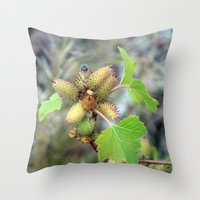 plant Throw Pillows featuring Plant by BACK to THE ROOTS