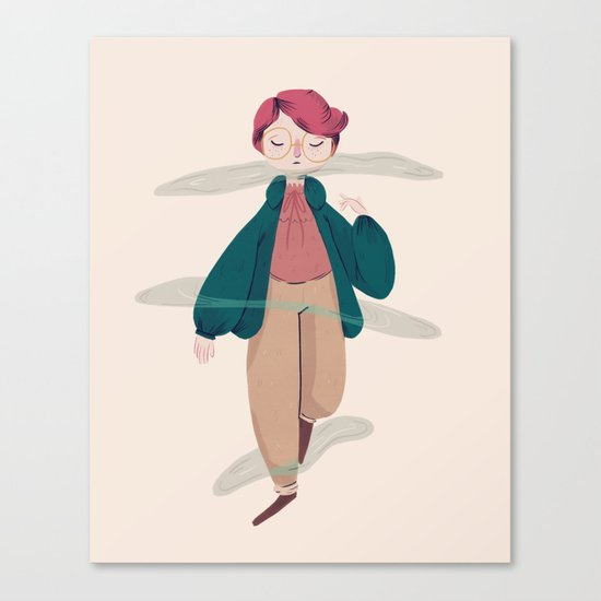 What About Barb? Canvas Print