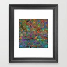 Geometrical Pattern 3 Framed Art Print