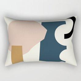 Shape Study #29 - Lola Collection Rectangular Pillow