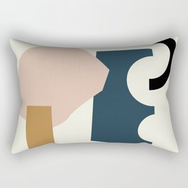 Shape Study #29 - Lola Collection Rectangular Pillow