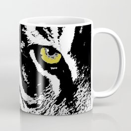 Art print: The yellow eye of the tiger Coffee Mug
