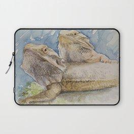 Bearded dragons, cute lizards Laptop Sleeve
