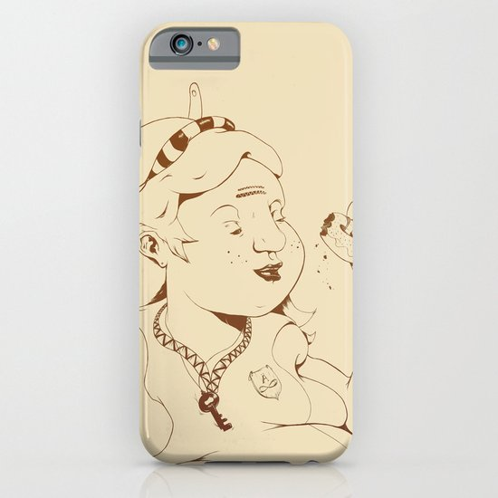 Alice stuck in the wonderland ! iPhone & iPod Case