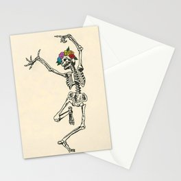 Dancing Skeleton Stationery Cards