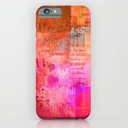 Warm Memories iPhone Case