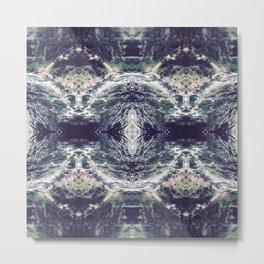 Cool Waters - Lakeforest Metal Print