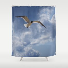 Solo Flight Shower Curtain