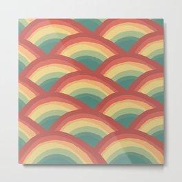 Hot Summer Rainbow Metal Print