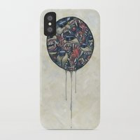 anxiety iPhone & iPod Cases featuring Anxiety by stablercake