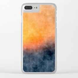 Grunge background Clear iPhone Case