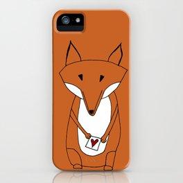 Mr. Fox Loveletter iPhone Case