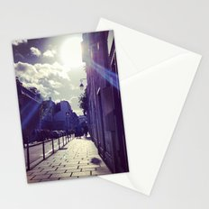 Ray of Sunshine on the Streets of Paris Stationery Cards