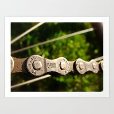 Chains in Nature Art Print