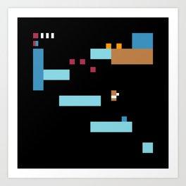 Minimal NES: Kid Icarus Art Print
