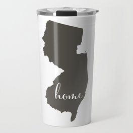 New Jersey is Home Travel Mug