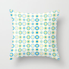 Lil Monsters - pattern 2 Throw Pillow