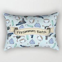 FitzSimmons Biatch Pattern Rectangular Pillow
