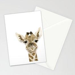 You bet giraffe I love you Stationery Cards