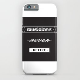 musicians iPhone Case