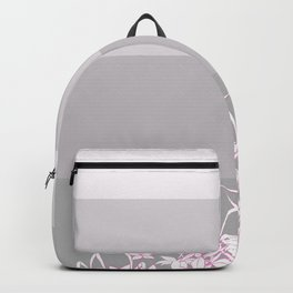 Pink Foliage Backpack