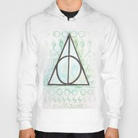 deathly hallows Hoodies featuring Deathly Hallows by Carmen McCormick