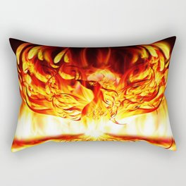 PHOENIX RISING Rectangular Pillow