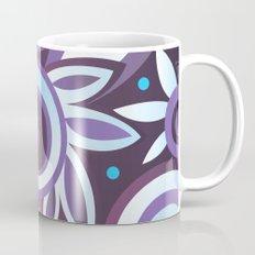 Summer leaves, purple Mug
