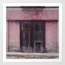 Doors of Perception 17 Art Print