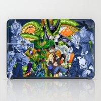 dbz iPad Cases featuring DBZ - Cell Saga by Mr. Stonebanks