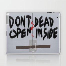 Don't Open Dead Inside, Walking Dead  Laptop & iPad Skin