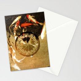 Thirteen Koi Fishes Stationery Cards