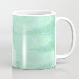 Blue Gray Cotton Fluff Coffee Mug