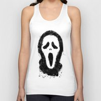 scream Tank Tops featuring Scream by Bill Pyle