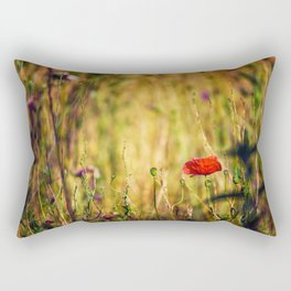 Wildflower Warriors Rectangular Pillow