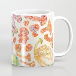 Wild Mushroom Rainbow - Neutral Coffee Mug