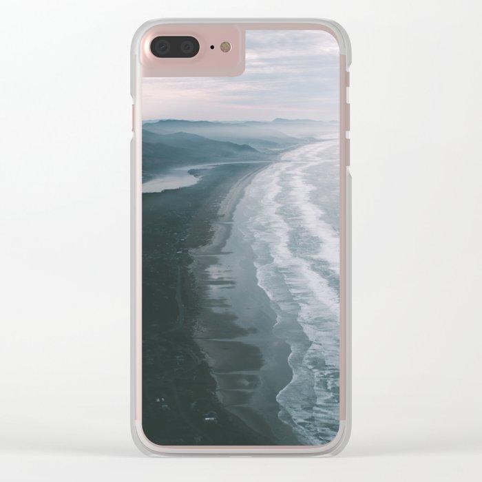 Oregon Coast VI Clear iPhone Case