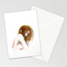 Hidden girl Stationery Cards