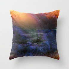 Ambient Galaxy Throw Pillow