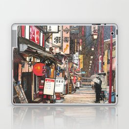 Lights in the Snow Laptop & iPad Skin