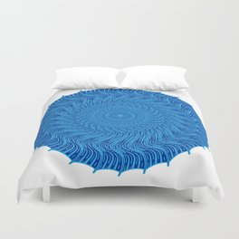 For when all you see is red Duvet Cover