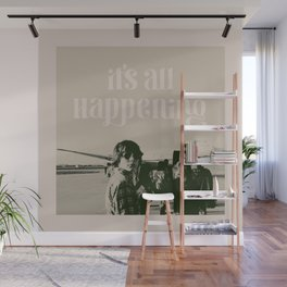 It's All Happening Wall Mural
