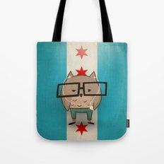 Chicago Owl Tote Bag