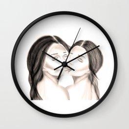 embrassé Wall Clock