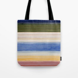 Colorbands Yellowstone Light Pink Tote Bag