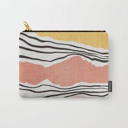 Modern irregular Stripes 01 Carry-All Pouch